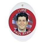 I Like Paul Ryan Ornament (Oval)