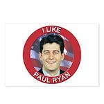 I Like Paul Ryan Postcards (Package of 8)