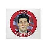 I Like Paul Ryan Throw Blanket