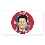 I Like Paul Ryan Sticker (Rectangle 10 pk)