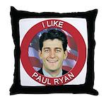 I Like Paul Ryan Throw Pillow