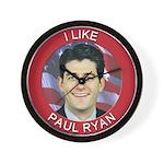 I Like Paul Ryan Wall Clock