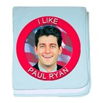I Like Paul Ryan baby blanket