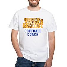 World's Greatest Softball Coach Shirt
