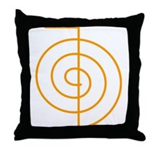 Cho Ku Rei (orange) Throw Pillow
