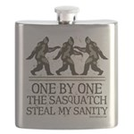 One By One The Sasquatch Flask
