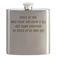 Know it all ... Flask