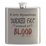 Mosquitoes Should Suck Fat Flask
