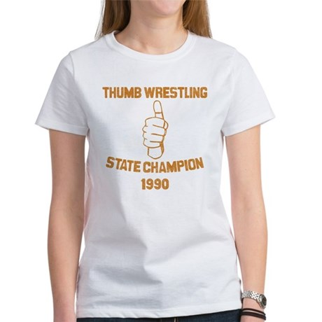 Thumb Wrestling Champ Women's T-Shirt