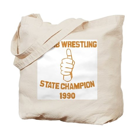 Thumb Wrestling Champ Tote Bag