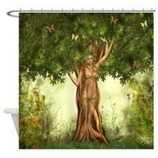 Mother Earth Tree Shower Curtain