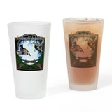Duck hunter Drinking Glass