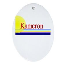 Kameron Oval Ornament