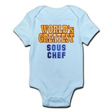 World's Greatest Sous Chef Infant Bodysuit