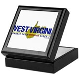 WV: Separate From VA Since 1863 Keepsake Box