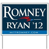 Romney - Ryan '12 Yard Sign