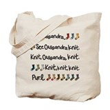 See Cassandra Knit Tote