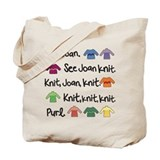 See Joan Knit Tote