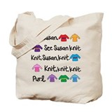 See Susan Knit Tote