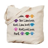 See Lisa Knit Tote