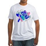Thyroid Cancer Love Hope Cure Shirt