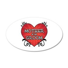 Tattoo Heart Mother Groom Wall Decal