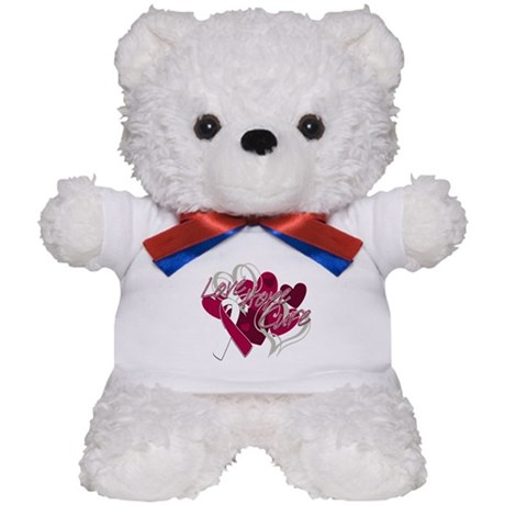Throat Cancer Love Hope Cure Teddy Bear