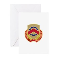 DUI - 125th Support Battalion Greeting Cards (Pk o