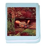 John Everett Millais Ophelia baby blanket