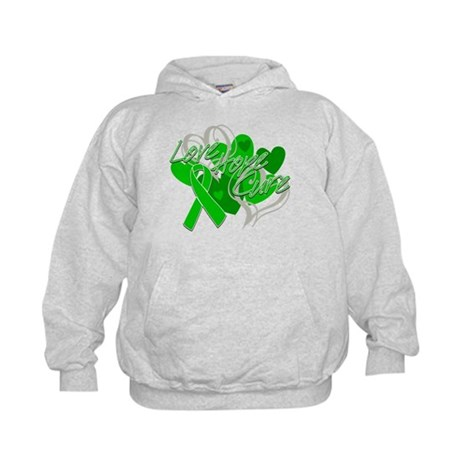 Spinal Cord Injury Love Hope Cure Kids Hoodie