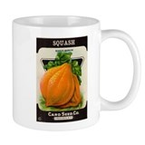 Antique Seed Packet Art Squash Mug