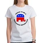Wisconsin Republican Pride Women's T-Shirt