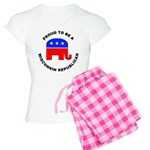 Wisconsin Republican Pride Women's Light Pajamas