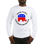 Wisconsin Republican Pride Long Sleeve T-Shirt