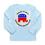 Wisconsin Republican Pride Long Sleeve Infant T-Sh