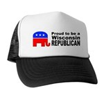 Wisconsin Republican Pride Trucker Hat