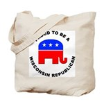 Wisconsin Republican Pride Tote Bag