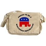 Wisconsin Republican Pride Messenger Bag