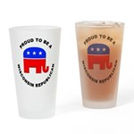 Wisconsin Republican Pride Drinking Glass