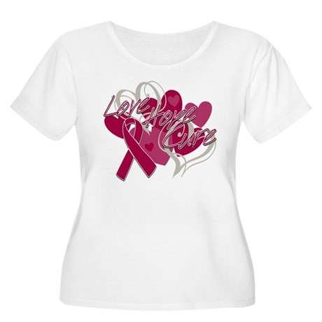 Sickle Cell Anemia Love Hope Cure Women's Plus Siz