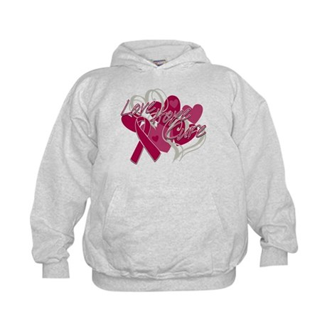 Sickle Cell Anemia Love Hope Cure Kids Hoodie