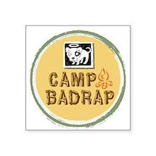 "Camp BADRAP Square Sticker 3"" x 3"""