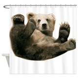 Brown Bottom Bear Cub Playful Fuzzy Wuzzy Shower C