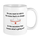 Nurse-Secretary Mug