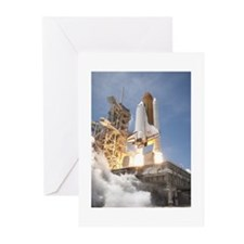 Atlantis Launch STS 132 Greeting Cards (Pk of 10)