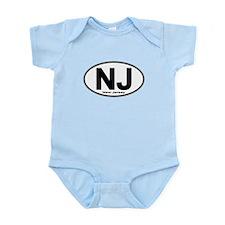 Cute Nj Infant Bodysuit