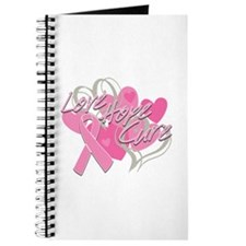 Breast Cancer Love Hope Cure Journal