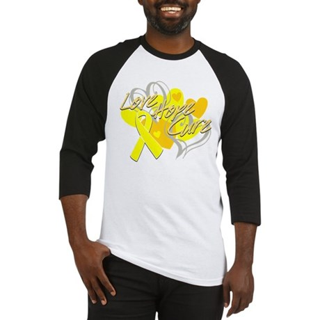 Sarcoma Love Hope Cure Baseball Jersey