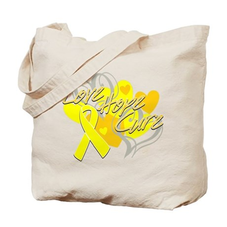 Sarcoma Love Hope Cure Tote Bag