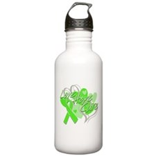 Lymphoma Love Hope Cure Water Bottle